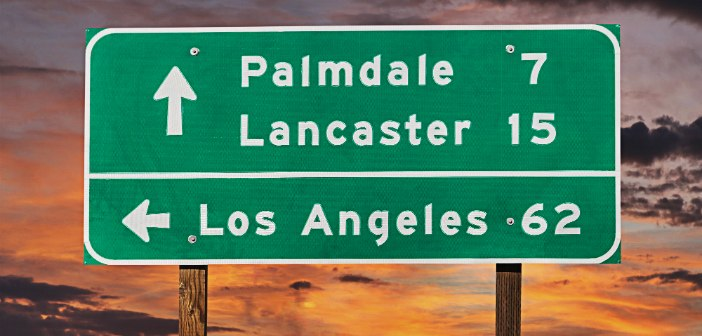 Palmdale and Lancaster